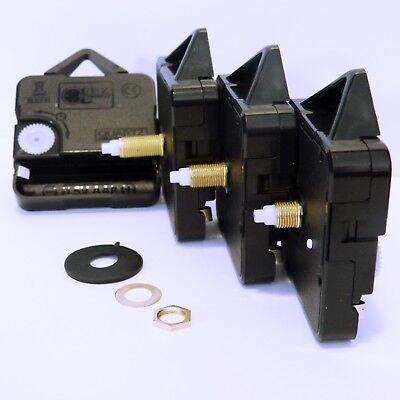 Replacement Quartz clock mechanism, choice of movement and hands, DIY repair kit 12