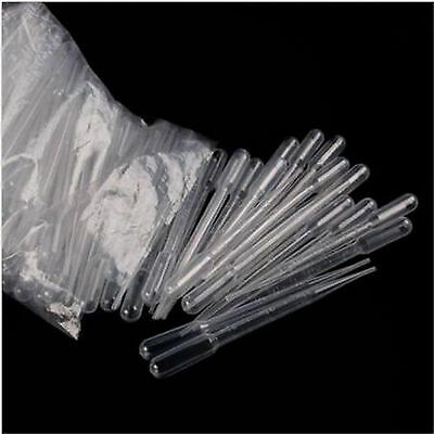 1/3/5/10ML Disposable Plastic Clear Eye Oil Dropper Transparent Graduat PipetteS 5