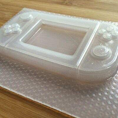Handheld Game Console Plastic Mold Resin Molds Shaker Gamer UV resin mould 5