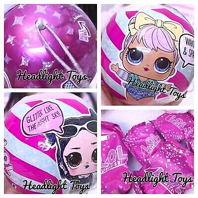 1 Authentic LOL Surprise SPARKLE SERIES Ball Big Sister Brother Dolls 2 3 4 5 6 5