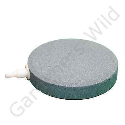 "AIR STONE 4"" 10cm (x12) HAILEA large round ceramic airstone hydroponic pond koi 2"