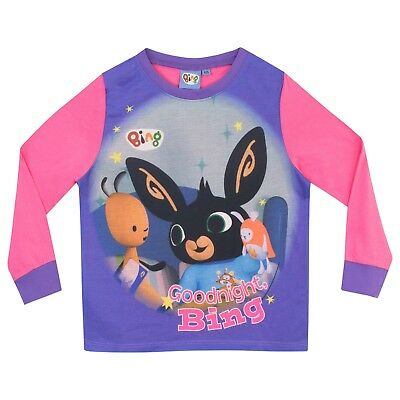 Bing Pyjamas | Kids Bing Pyjama Set | Girls Bing and Flop PJs | Bing Pyjama 2
