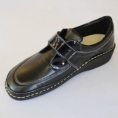 ... CINZIA SOFT scarpa plantare anatomico estraibile strappi DONNA nero  2380MVB 2 b8364899b91