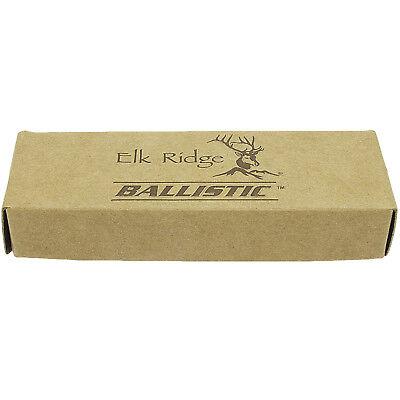 """8.5"""" ELK RIDGE WOOD SPRING ASSISTED FOLDING POCKET KNIFE Open Assist EDC Blade"""