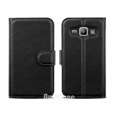 Wallet Leather Flip Case Cover For Samsung Galaxy J2 Pro 2018 J5 J7 Pro J8 A5 A8 3