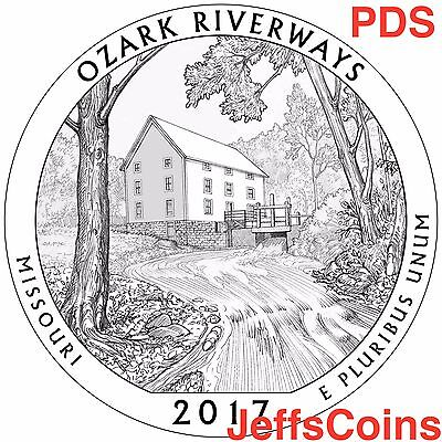 2018 P&D&S Pictured Rocks National Lakeshore Park Quarter MI USMint PDS ATB Best 5