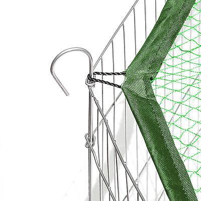 Enclos avec filet de protection extérieur cage à lapin parc petits animaux vert 2