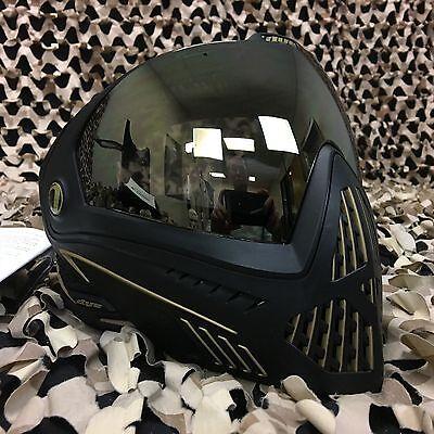 Paintball Maske DYE I5 Onyx Thermal gold