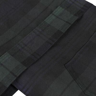 New Blackwatch Checkered British Wax Dog Coat Waterproof Waxed Cotton Raincoat 3