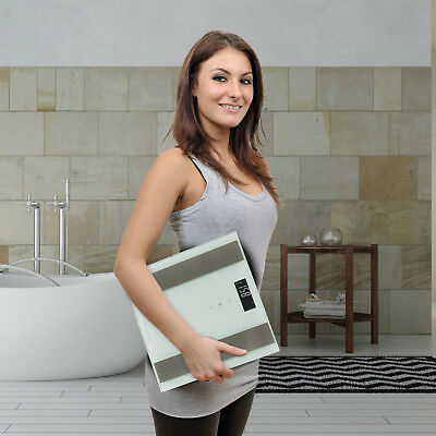 Bascula de baño digital analisis corporal 8 funciones 180Kg memoria 10 usuario 5