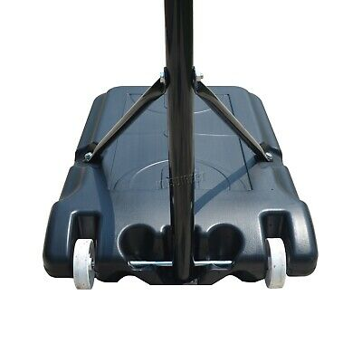 FoxHunter Netball Post Set Stand 3.05M Adjustable Height - With Wheel Hoop Net 7