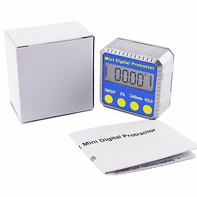 Digital Protractor Angle Gauge Finder Bevel Level Box Inclinometer with Magnet 4