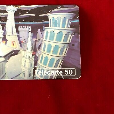 France Telecom Euro Disneyland Paris 1992 Small World Collectable Phone Card 4