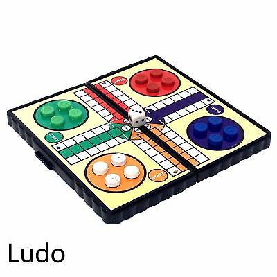 Mini Magnetic Travel Board Games - Chess , Ludo , Snakes and Ladders,  Draughts 4