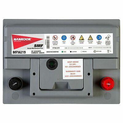 Hankook 56069 60Ah Batterie de Démarrage Pour Voiture 12V