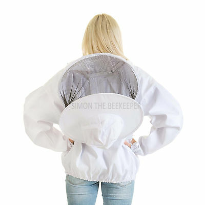 Buzz Beekeeping Bee Jacket with Round Veil - LARGE