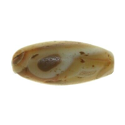 (0681) Banded Eyed Agate Bead from China-Tibet.   眼玛瑙珠 3