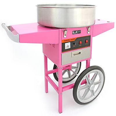 Popcorn Maker Retro Machine & Cotton Candy Floss Making Party Electric Machine 8