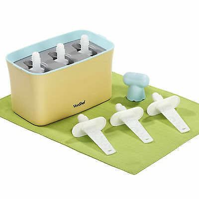 Vonshef Express Frozen Ice Lolly Maker Ice Pop Mould Up To