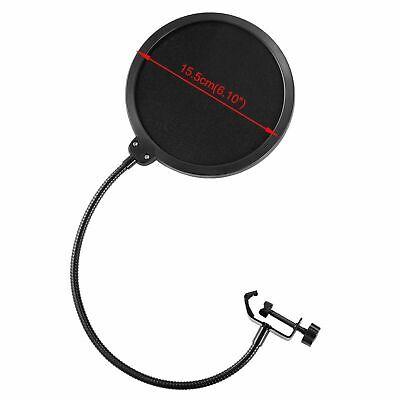 BM800 Condenser Microphone Kit Studio Suspension Boom Scissor Arm Stand Sound AU 7
