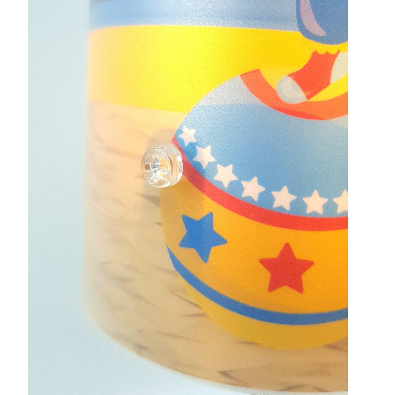 Kinderzimmer Leuchte Tischleuchte Nachttischlampe personalisiert  Pferd