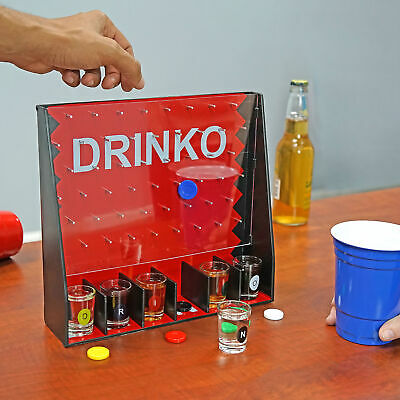 DRINKO NOVELTY DRINKING GAME Hilarious Funny Crazy Social Party Games College 6