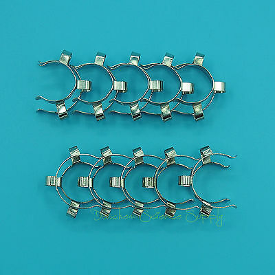 10Pieces 24/29,24/40,Metal Clip,Keck Clamp,For 24# Glass Ground Joint 8