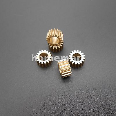 16T Brass Gear 0.5 Modulus Teeth=16 Aperture 5mm 4.97mm Model Accessories Metal
