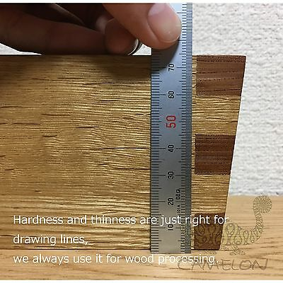Shinwa Stainless Steel Straight Ruler Measuring Double Side Scale 150Mm 6
