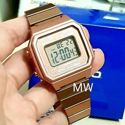 New Casio Vintage Rose Gold Digital Stainless Steel Watch B650WC-5A B650WC-5A 2