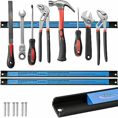 3x Barre magnétique porte outils pour rangement marteaux pinces tournevis 46cm 2