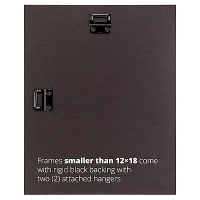 """Craig Frames Black Picture Frames & Poster Frames, 1"""" Wide, Contemporary Style 3"""