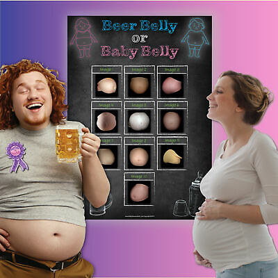 3 Baby Shower Games  LABOUR or ROLLERCOASTER, BEER or BABY BELLY, PRICE IS RIGHT 2