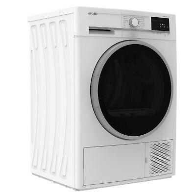 Wäschetrockner Trockner Wärmepumpentrockner A++ Sharp KD-GHB7S7GW2-DE 7kg _2ML 6