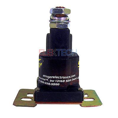 Stinger SGP38 Power Relay Battery Isolator 80AMP High Current 12V Applications