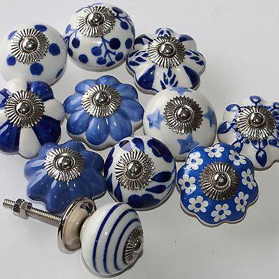 Möbelknopf Möbelgriff Möbelknöpfe Keramik Möbelknäufe Ying Yang Weiß 22  zw
