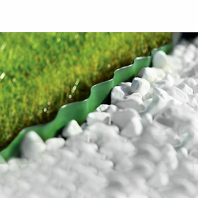Plastic Garden Grass Lawn Edge Edging Border Fence Wall Driveway Roll Path 3