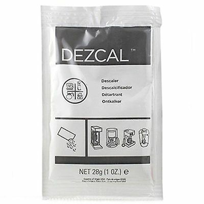 URNEX DEZCAL COFFEE MAKER & ESPRESSO DESCALER - 5 PACK & Backflush Disk Blind 3
