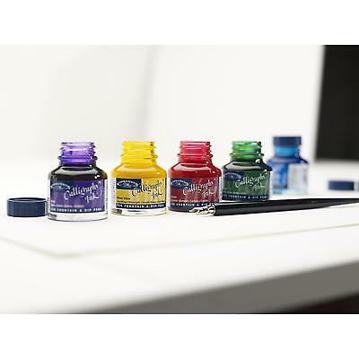 Winsor & Newton Calligraphy Art & Lettering Ink 30ml - 14 Colours Available 2