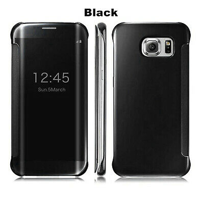 Mirror Shockproof Flip Case Cover  For Samsung Galaxy S10 Note 10 9 S9 S8 Plus 3