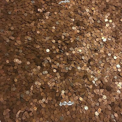 ✯1Lb Pound Unsearched Wheat Cents Lincoln Pennies✯Estate Sale Coins Lot✯1909-58✯ 2
