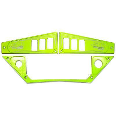 2017 Polaris RZR XP1000 Ride Command Edition 1 Piece Dash Panel Lime Squeeze UTV