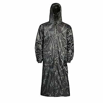 Adults Water proof Jacket Long Coat, Trousers Pack away Rain Women's Mens Ladies 6