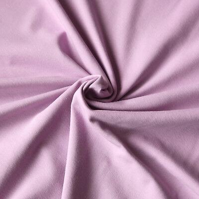 Jersey Stoff einfarbig / Uni Kombistoff - Baumwolljersey für Kleidung aller Art 12