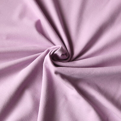 Jersey Stoff einfarbig | Uni Stoff | Top - Qualitäts - Baumwolljersey | Öko-Tex 5