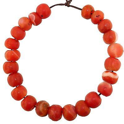 (2362) Bracelet of Pema Raka Nan Hong Beads   楠香串珠 2