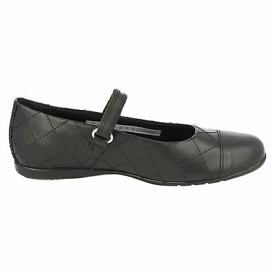 SALE GIRLS CLARKS DANCE ROXY HOOK /& LOOP FORMAL FLAT MARY JANE SCHOOL SHOES SIZE