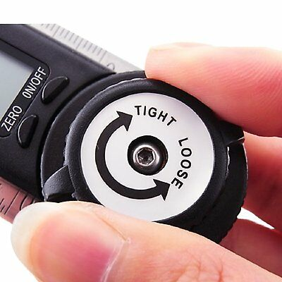 Electronic Digital Protractor Goniometer Angle Finder Meter Gauge Tool CE 360° 7