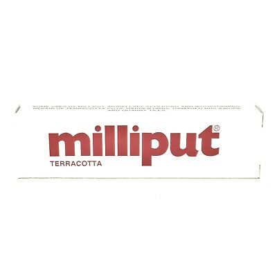 Assorted Milliput® Putty Standard Terracotta Superfine Black Silver Turquoise 4