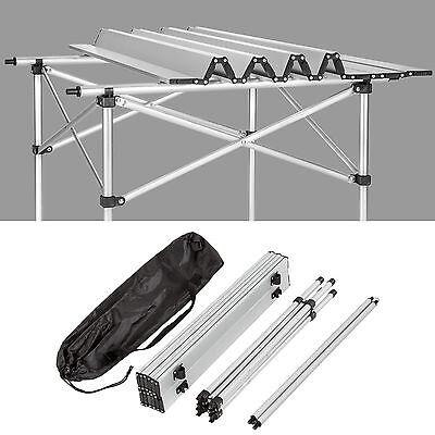 Aluminium Campingtisch Rolltisch Klapptisch Falttisch Gartentisch klappbar 4